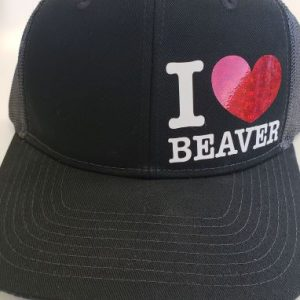 I Love Beaver Cap 1